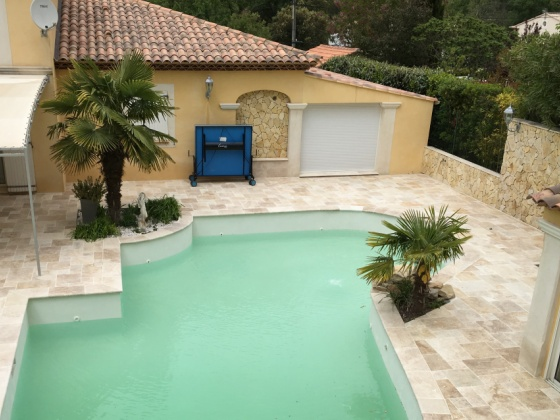 Extension maison avec piscine Var